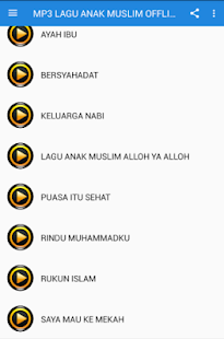 MP3 LAGU ANAK MUSLIM TERBARU - náhled