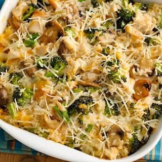 Cheesy Chicken, Broccoli and Rice Casserole Recipe