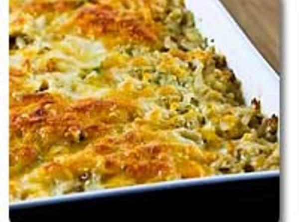 Zucchini Burger Casserole Recipe
