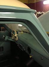Photo: door opening piping