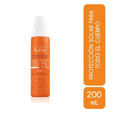 Protector Solar Avene   Spray SPF 50+ Pieles Sensibles x200ml