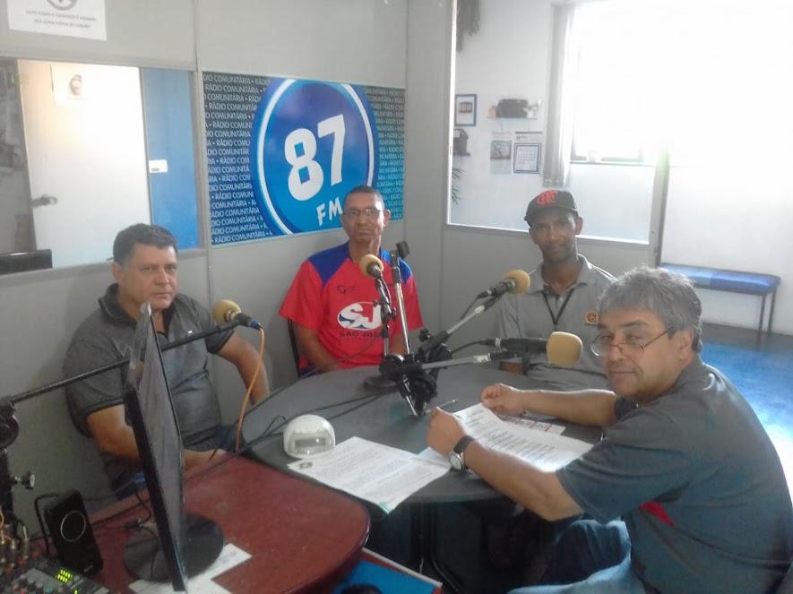 Marcio Nunes, Antonio Carlos, Marcos Ventura e Donacio Silva