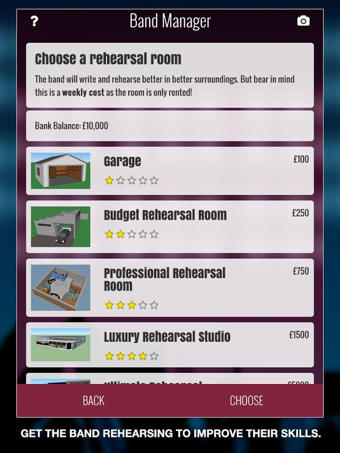 Superstar Band Manager- screenshot