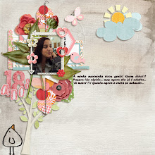 Photo: Template - A Smile to Enjoy Templates by Caroline S Brads, tags, cluster - Happy Moments by Digi Junkie Alpha - A Smile to Enjoy Alphas by Caroline S Glittered alpha, flowers, leaves, ribbon, tape - Blooming by Studio 68 Hexagonal paper, blue ribbon, hexagonal elements - The Bees Knees by 2AM Designs Bookplate, bird, background paper, geometric paper - Step by Step by ValC Frame - My Way by Nini Goes Digi Trees, clouds, sun, butterfly, pink bird, heart - Spring Affair Garden by Mo & Mo Studio Font Forte PS CS2