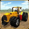 Tractor Farm Simulator 3D Pro icon