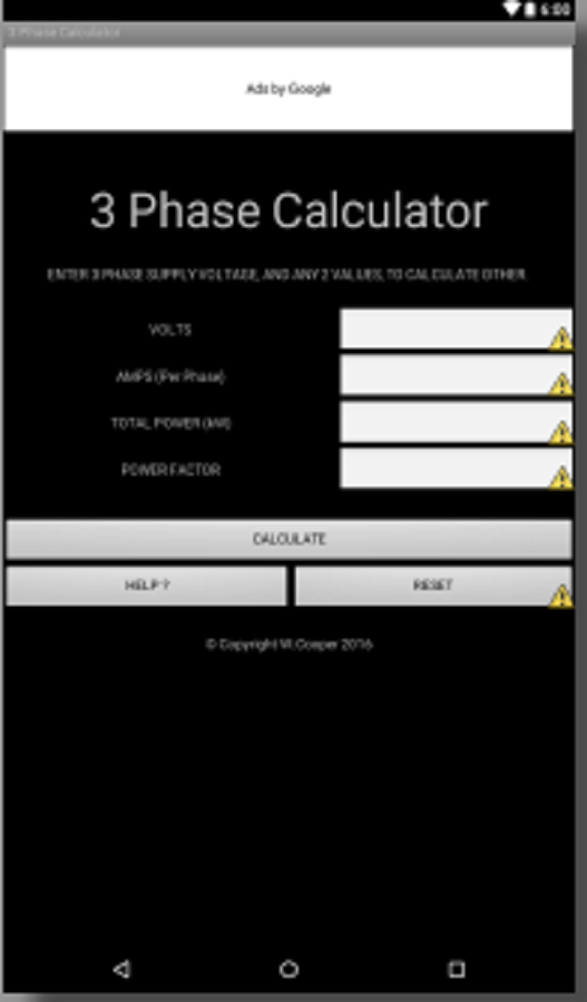 3 phase power calculator android apps on google play for 3 phase motor power calculation