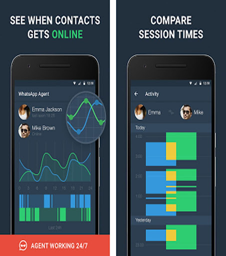 WhatsAgent Premium - Premium Tracker & Analyzer screenshot 2