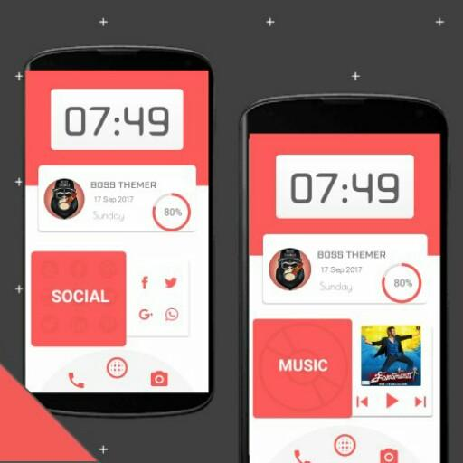 Red Card - KLWP Android APK Download Free By Boss Themer