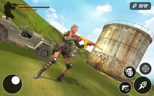Military Firing Squad Free-Fire Battleground 1.0 screenshots 1