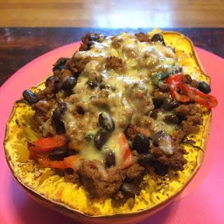 Taco Squash Boats Recipe