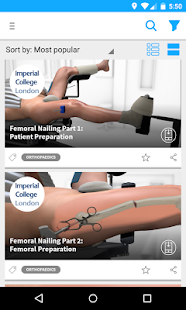 Touch Surgery - Medical App- screenshot thumbnail