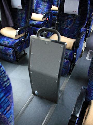 北海道中央バス「ドリーミントオホーツク号」 3948 フリースペース