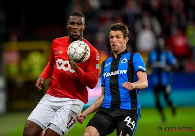 Obbi Oulare werd naar de uitgang geduwd bij Club Brugge