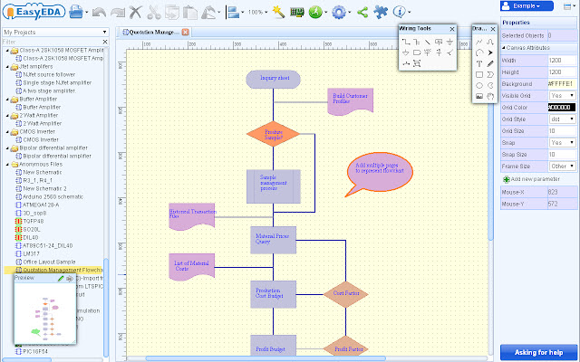 Easyeda Schematic Circuit Simulation Pcb