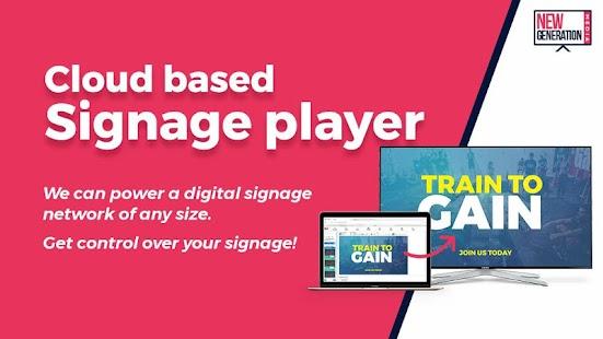 NG Signage - náhled