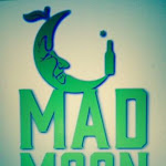 Logo of Mad Moon Cider Eat. Peach. Cider.