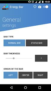 Energy Bar – A pulsating Battery indicator! 2