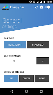 Energy Bar - A pulsating Battery indicator! APK Mod