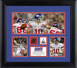 Photo: New York Giants Super Bowl Champs Framed Collage with Game Used Football - http://bit.ly/yioS1v