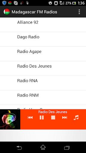 Madagascar FM Radios