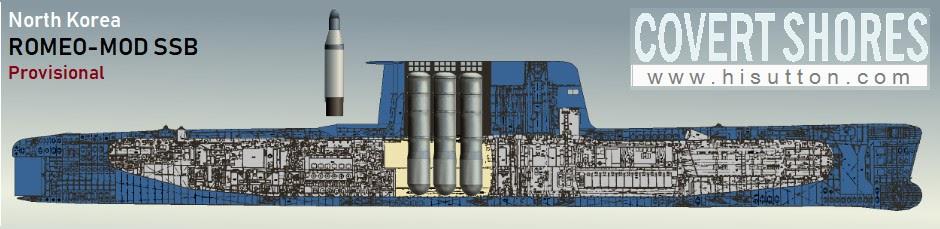 A análise sugere que os tubos de mísseis são colocados no compartimento traseiro da bateria e que a vela foi aumentada e alongada para acomodá-los. Três tubos são mostrados; esse seria o complemento máximo nessa configuração.