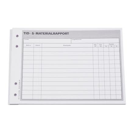 Tid- & materialrapport A5L