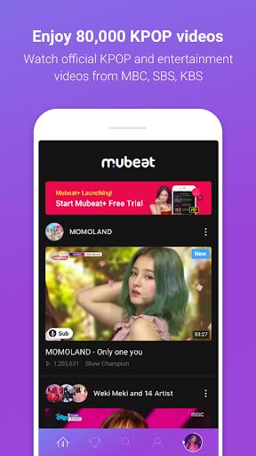 Mubeat for KPOP Lovers screenshot 1