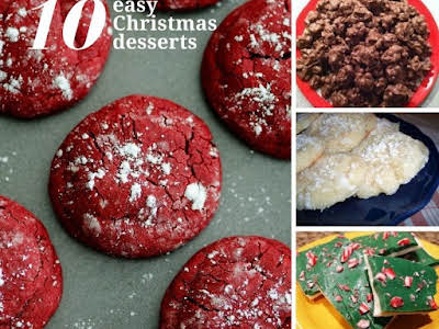 10 Easy Christmas Desserts