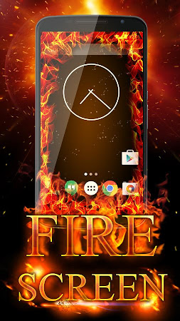Fire Screen Prank 1.0 screenshot 129870