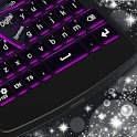 Black and Purple Keyboard icon
