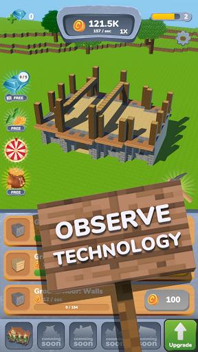 House Craft 3D - Idle Block Building Game 0.9.2 screenshots 2