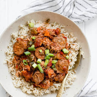 Slow Cooker Chicken and Sausage Creole.