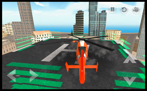 Helicopter Simulator : City Flight Rescue Pilot 3D - náhled