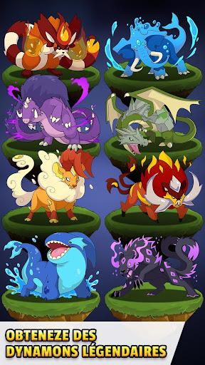 Puzzle & RPG Dynamons Evolution : Mythe du dragon  captures d'écran 1