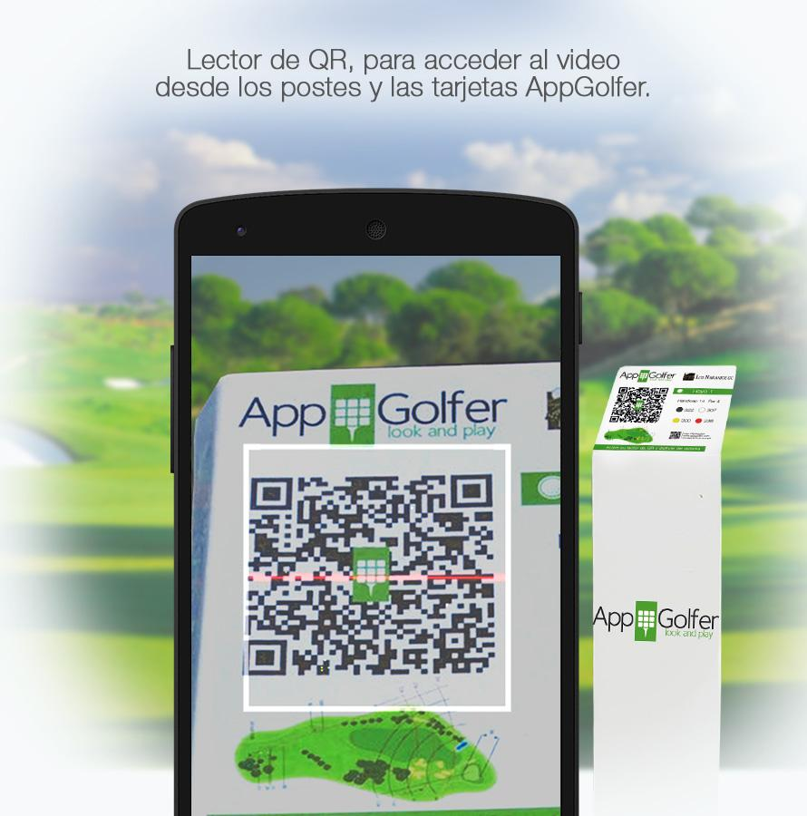 AppGolfer Look&Play- screenshot