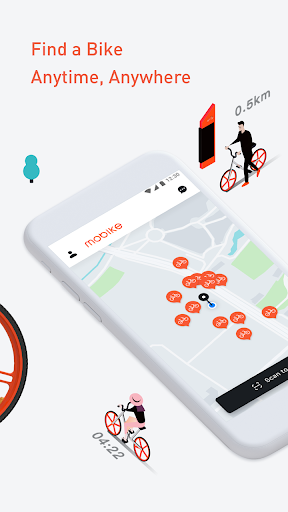 Mobike - Smart Bike Sharing 8.12.1 screenshots 2