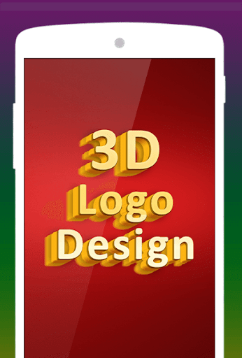 3D Logo Maker & Name Art - Logo Creator Designer 1.4 screenshots 1
