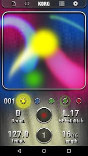 KORG Kaossilator for Android Screenshot