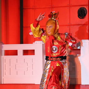 The Monkey King by Timmothy Tjandra - People Musicians & Entertainers (  )