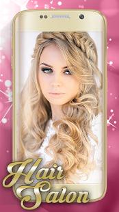 Program na úpravu fotek: Vlasy - náhled
