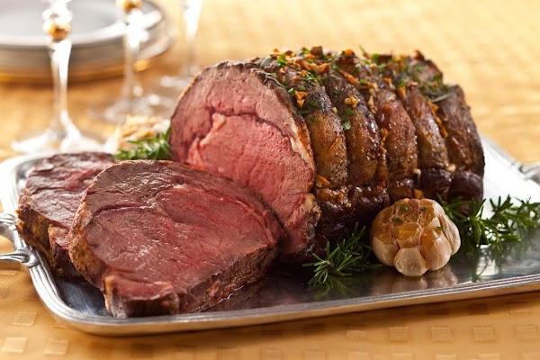 Roast Prime Rib Of Beef Recipe