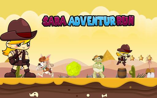 Sara Adventure Run Game