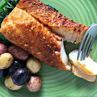Moroccan-Spiced Fish.