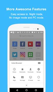 Insta Browser screenshot
