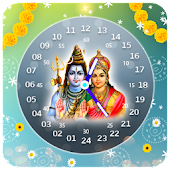 Shiva Clock Live Wallpaper