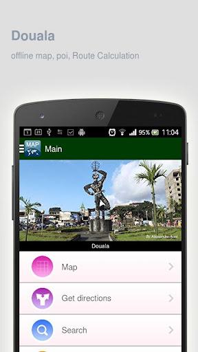 Douala Map offline