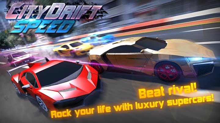 Speed Car Drift Racing Android App Screenshot