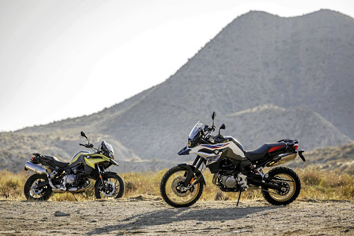 The new BMW F750 GS and F850 GS models