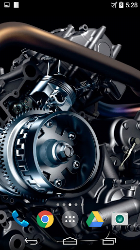 Car Engine Live Wallpaper