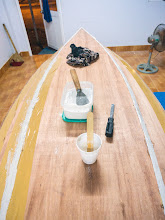 Photo: remove the duck tape when epoxy half cures